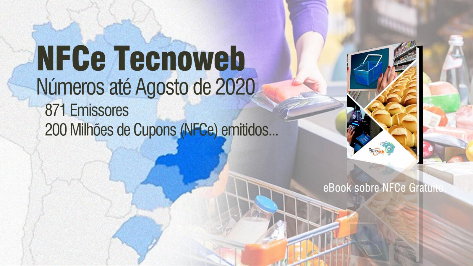 NFCe Tecnoweb em Números: 871 emissores e 200 milhões de cupons…